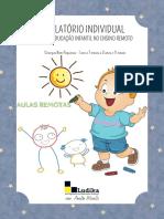EXEMPLO DE RELATÓRIO INDIVIDUAL - crianças bem pequenas