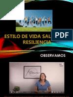 Estilos Vida Saludable - Resiliencia