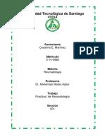 Práctica I de reumatología, CESARINA E. MARTINEZ