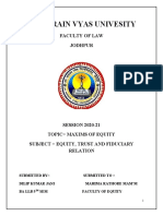 5TH SEM LAW OF EQUITY