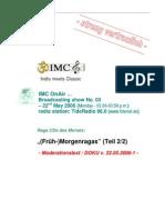 Moderation Script (05/2006)