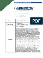 Analisis Jurisprudencial / 716-96