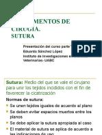 PPT Fundamentos de Cirugía - Suturas.ppt