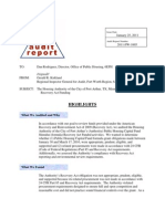 HUD audit of federal stimulus grant in Port Arthur