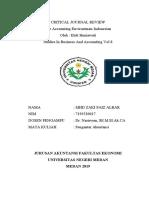 Analisis Jurnal Akuntansi
