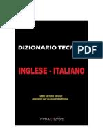 Dizionario Tecnico Italiano Inglese - Manuali Per Officina Meccanica