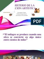 El misterio de la creación artística.pptx