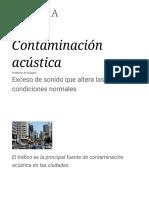 Contaminación acústica - Wikipedia, la enciclopedia libre