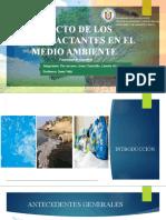 IMPACTO DE LOS SURFACTANTES EN EL MEDIO AMBIENTE FINAL.pptx