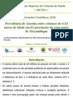 Apresentacao - Anemia- Jornadas ISCISA 2018