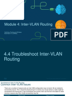 ST PPT3-2 - Troubleshooting Inter-VLAN