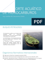 TRANSPORTE ACUÁTICO DE HIDROCARBUROS