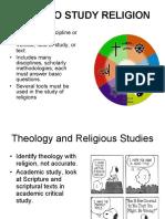 Ways to study religion