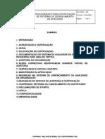 gp 01 br certificação qualidade