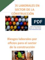 Riesgos Laborales Construcción Ppt