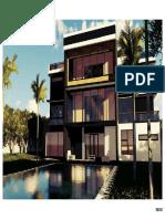 Vue 3D facade postérieure _ Mise en page type