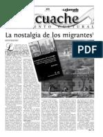 Dahil Melgar, La Nostalgia De Los Migrantes, Georgia Yris Bravo López, Los edificios siguen hablando