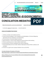 Conciliation-Mediation _ National Conciliation and Mediation Board