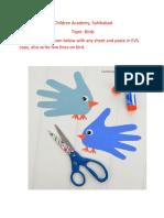 Birds(6-10-20) class 1