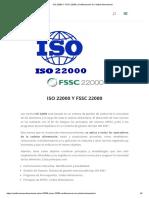 ISO 22000 Y FSSC 22000 _ Certificaciones de Calidad Alimentarias