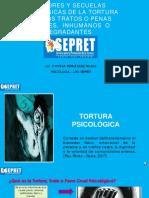 4 Factores y Secuelas psicológicas de la tortura