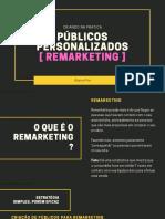 13 - REMARKETING E ORDEM DE PÚBLICOS