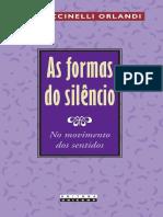 ORLANDI,Eni_Puccinelli-As formas do silêncio_no movimento dos sentidos
