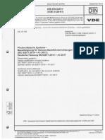 Scan DEN EN IEC 62817 Bauarteignung für Sonn-Nachführeinrichtungen Tracker Steuerung