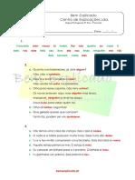 3.4 Ficha Formativa - Pronome (3) - Soluções