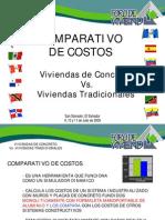 ComparativodeCostosSistemasIndustrializadosVsSistemasTradicionalesELSALVADOR