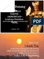 BIMTEK AKREDITASI KA-LPK 29-30 april 2019