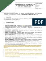 SOP-0016-DIA Procedimiento de Identificación de Aspectos y valoración de Impactos ambie