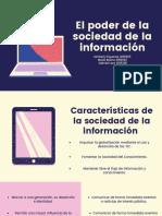 El poder de la sociedad de la información