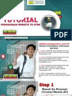 TUTORIAL PENGGUNAAN WEBSITE TO UTBK