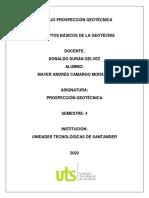 Conceptos Básicos de la geotecnia y análisis de un proyecto de estabilización