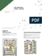 Preliminary Concept Design - Option 3_Mixed Use Development_Bahrain
