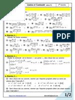 Limites et Continuité série n°1.pdf