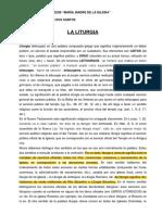 CONCEPTO DE LITURGIA