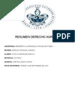 RESUMEN DERECHO AGRARIO