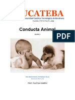 CONDUCTA ANIMAL PRACTICA
