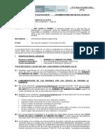 INFORME DE PRECLAIFICACION- NO HA LUGAR- ARMANDO