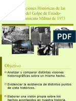 Interpretaciones Históricas Golpe de Estado O Pronunciamiento Militar de 1973
