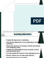 tactile and operational planning