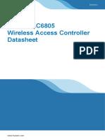 Huawei AC6805 Wireless Access Controller Datasheet