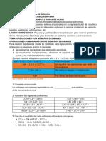 GUÌA DE MATEMÀTICAS No 42 SEMANA