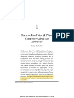 Resource Based View (RBV) of Competitive Advantage An Overview..pdf