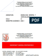 CLASE 8         SINDROME TUMORAL RESPIRATORIO Y EPOC