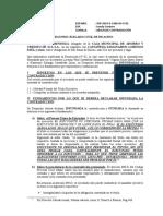 ABS. CONTRADICION - NULIDAD Y ACUERDO DE LLENADO