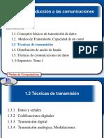 Técnicas de transmisión