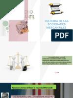 HISTORIA DE LAS SOCIEDADES MERCANTILES